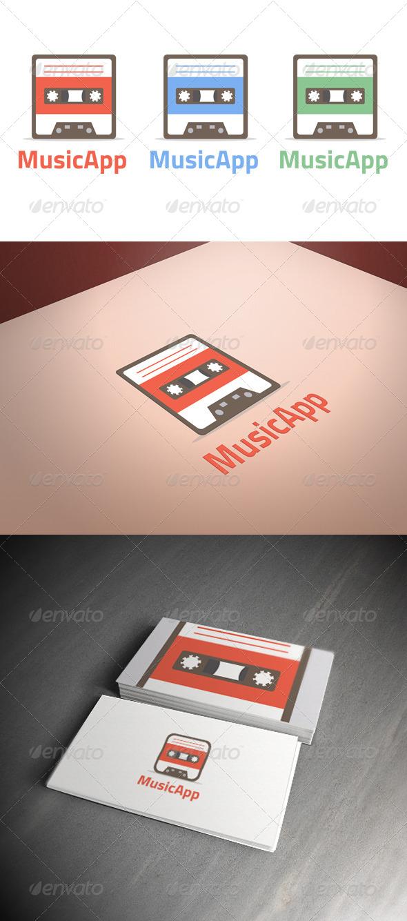 GraphicRiver Music App Logo Template 7086666