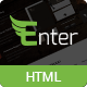 Enter - Responsive Onepage Site Template