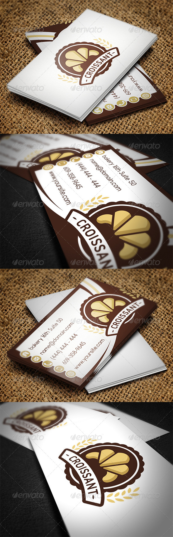 GraphicRiver Bakery Business Card 7140356