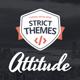 Attitude: Multimedia Portfolio for Media Artists - ThemeForest Item for Sale