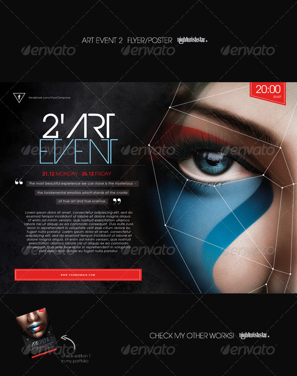 GraphicRiver Art Event 2 Poster Flyer 7097130