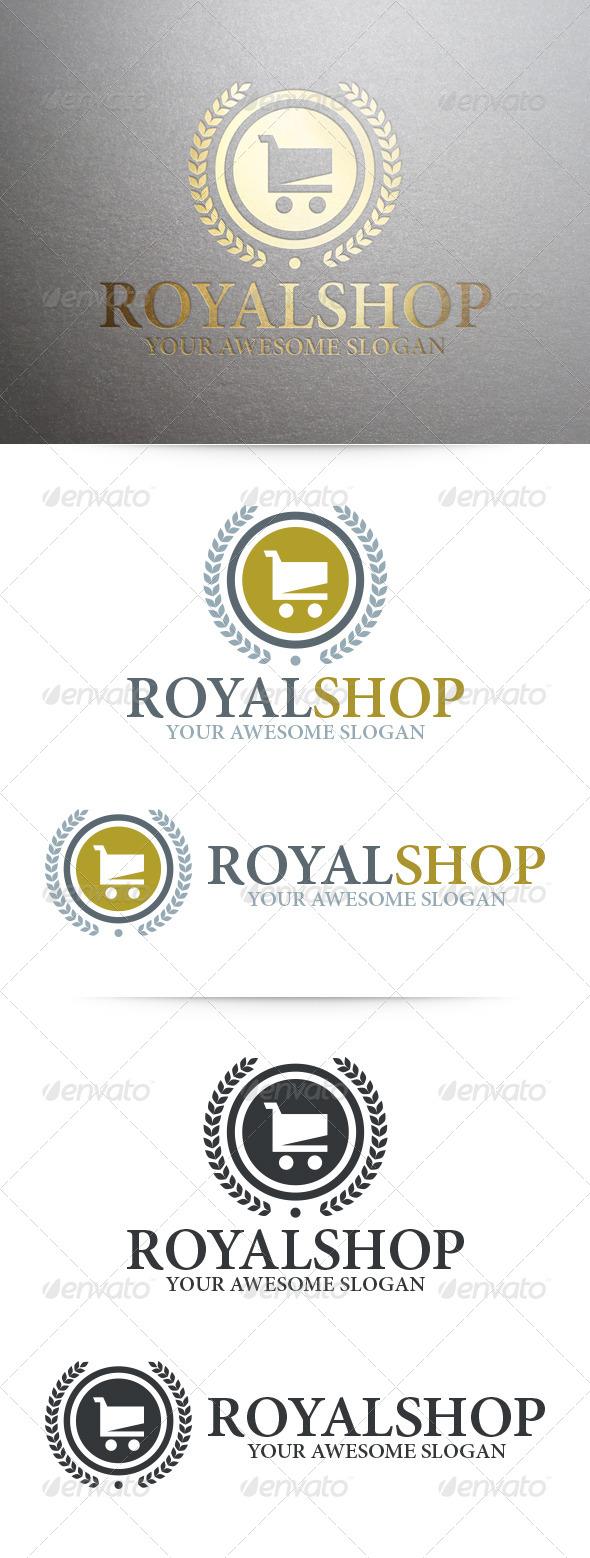 GraphicRiver Royal Shop Logo Template 7140877