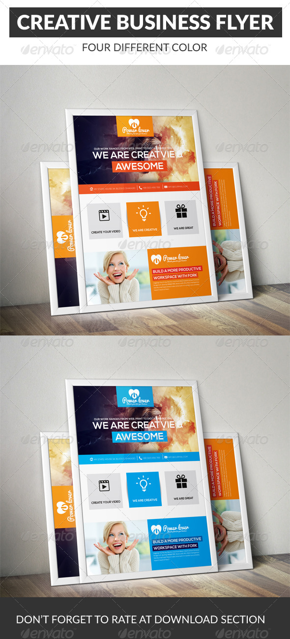 GraphicRiver Business Flyer 7140884