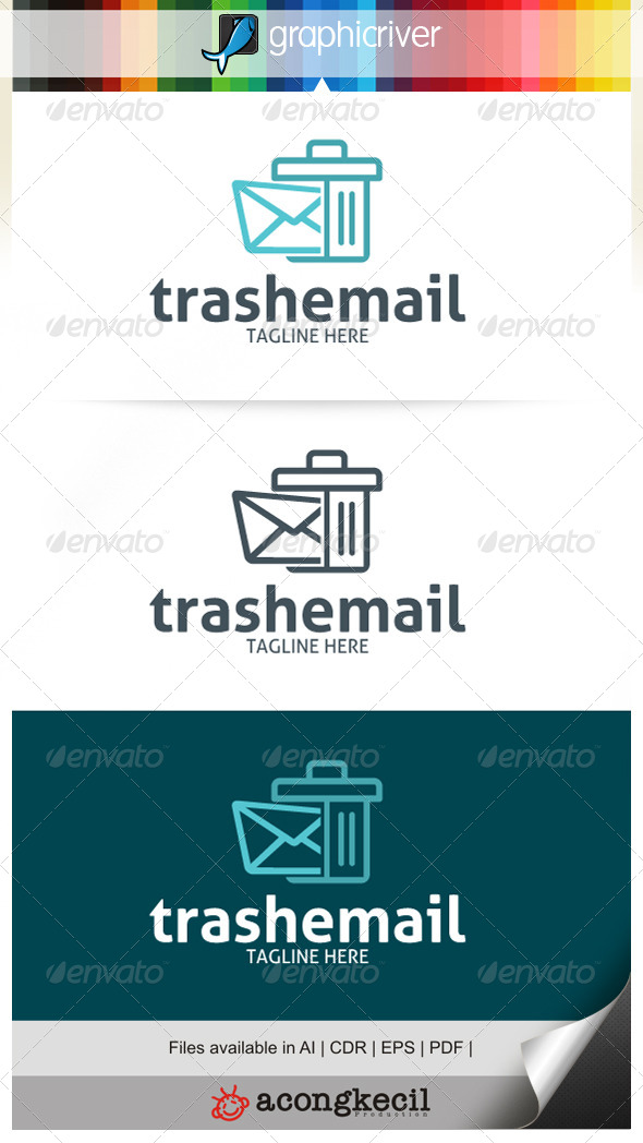 GraphicRiver Trash Email 7140928