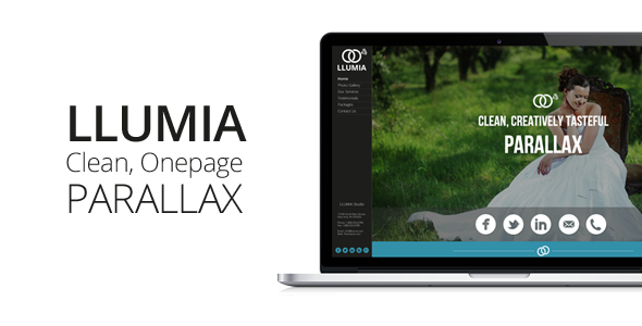 ThemeForest LLUMIA Muse Wedding Template 5691747