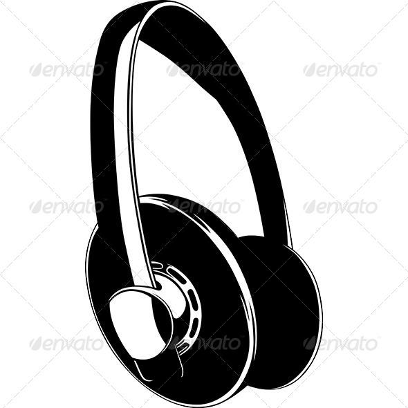 GraphicRiver Headphones 7141089