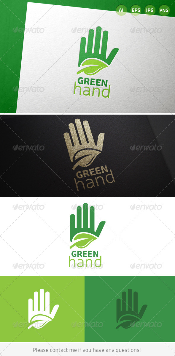 GraphicRiver Green Hand 7141191