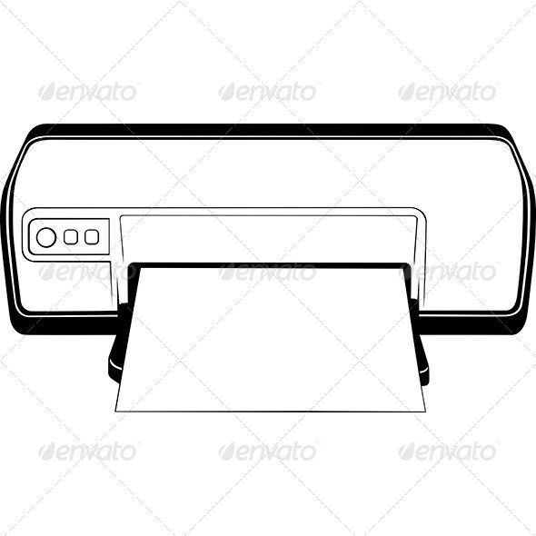 GraphicRiver Inkjet Printer 7141192