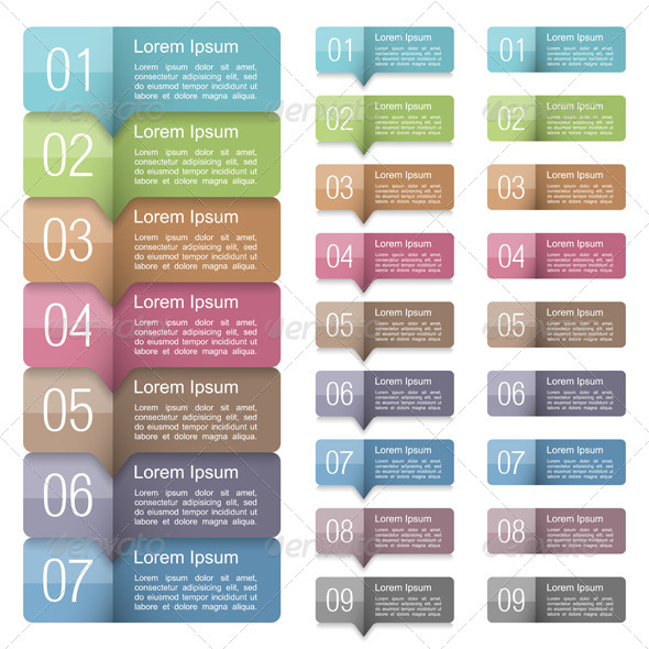 GraphicRiver Design Elements with Numbers 7141326
