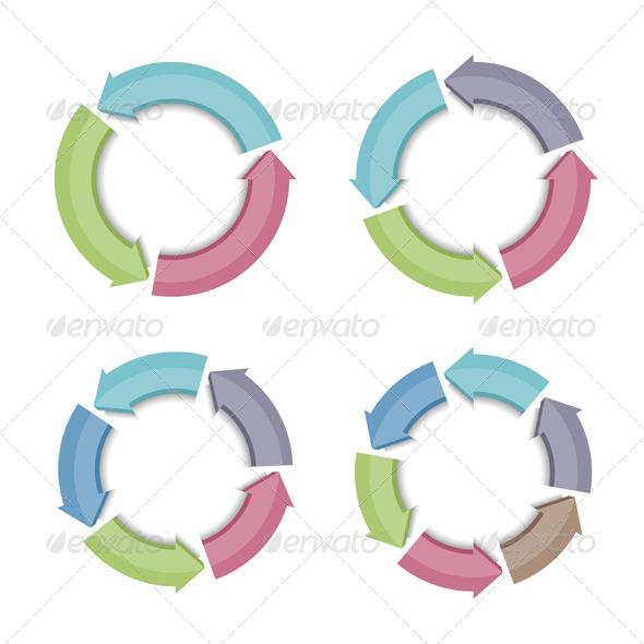 GraphicRiver Circular Arrows 7141344