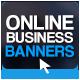 Online Business Banner Set - GraphicRiver Item for Sale