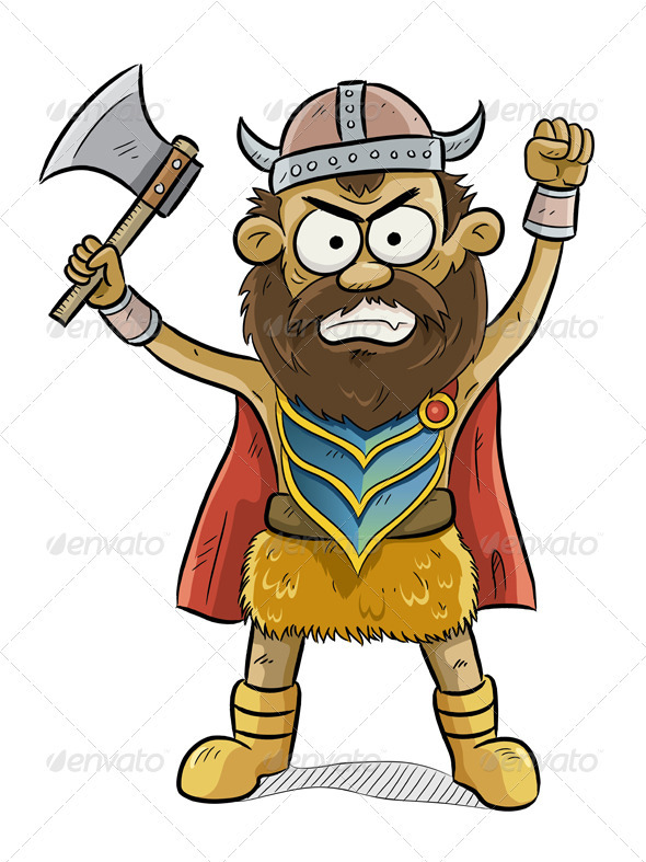 GraphicRiver Viking Man 749341