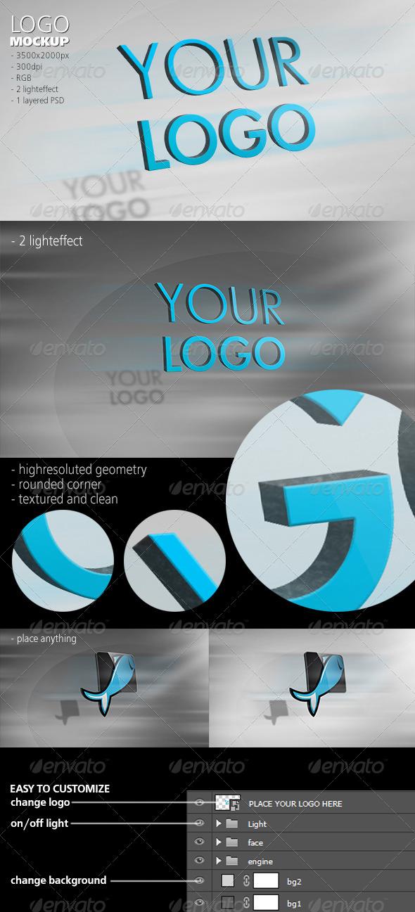 Dynamic Logo Mockup