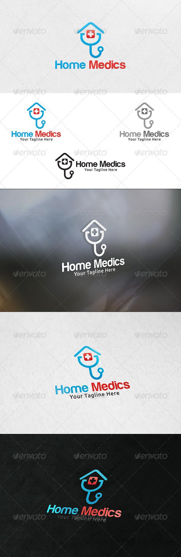 GraphicRiver Home Medics Logo Template 7141657