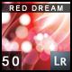 50 Red Dream Lightroom Presets - GraphicRiver Item for Sale