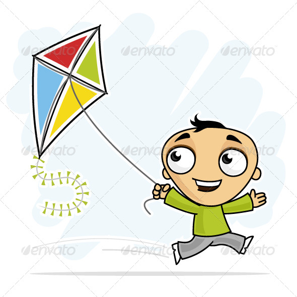GraphicRiver Fun with Kite 7142260