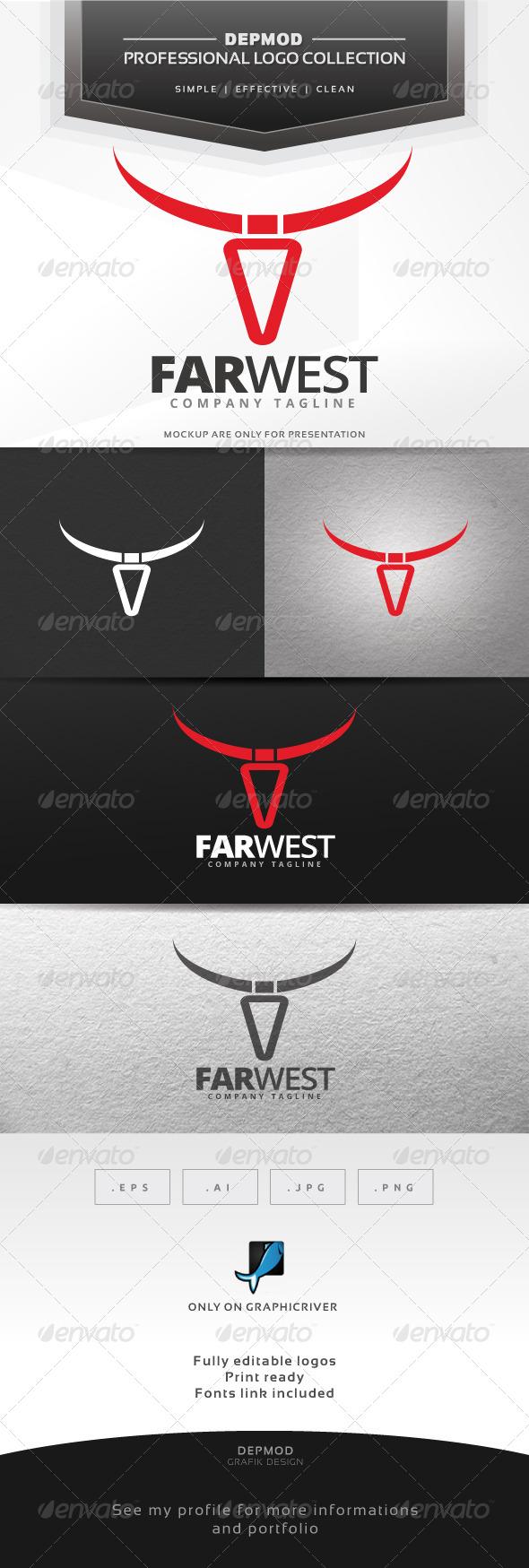 GraphicRiver Far West Logo 7142624
