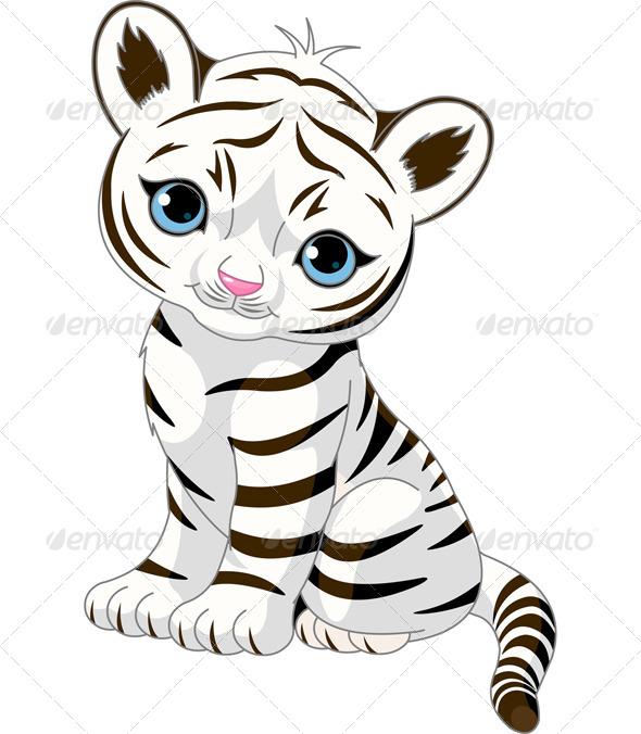 GraphicRiver Tiger Cub 7142803