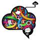 Brain Working Abstract - Illustration