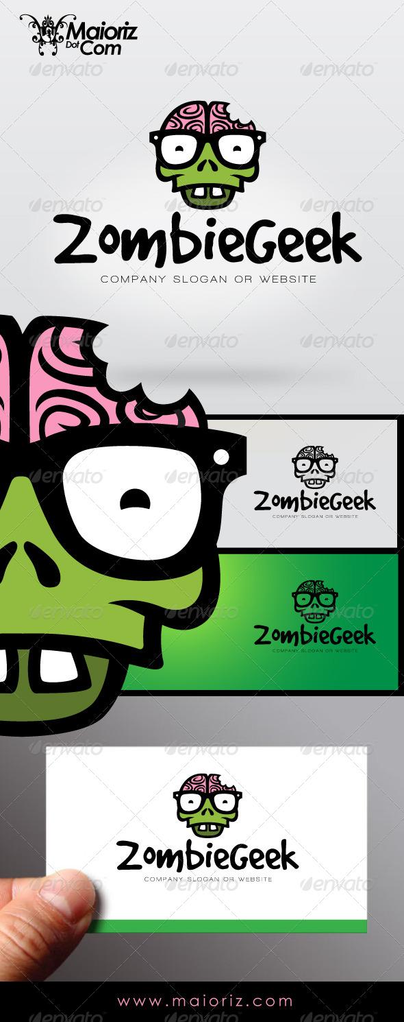 Zombie Geek Logo