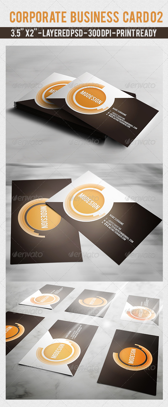 GraphicRiver Corporate Business Card 02 7142998