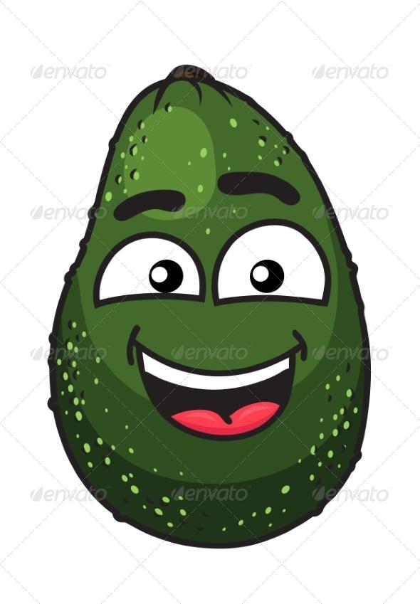 GraphicRiver Green Tropical Avocado Fruit 7143201
