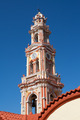 Bell Tower of Panormitis Monastery, Symi, Greece. - PhotoDune Item for Sale