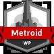 Metroid Responsive vCard - WordPress - ThemeForest Item for Sale