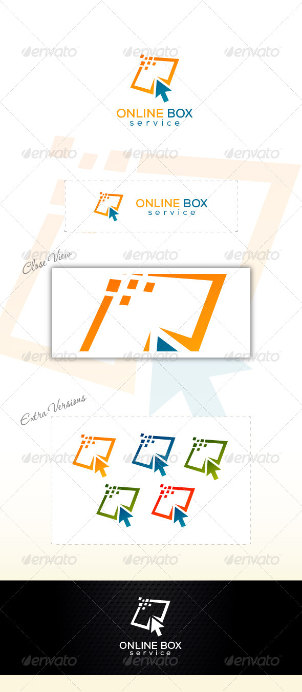 Online Store - Abstract Logo Templates