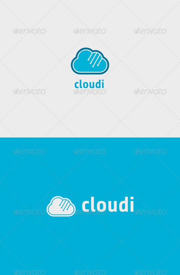 GraphicRiver Cloudi Logo 7143827