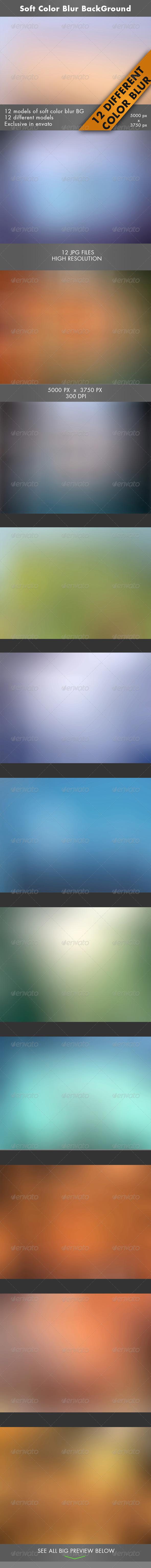 Soft Color Blur BackGround - Tech / Futuristic Backgrounds