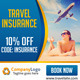 Beach and Travel Vacation Web Banners - GraphicRiver Item for Sale
