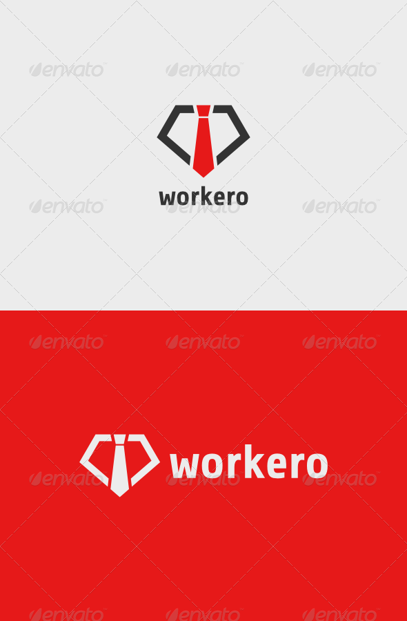 GraphicRiver Workero Logo 7144206