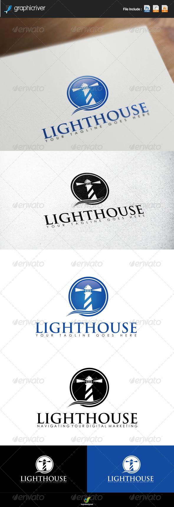 GraphicRiver Lighthouse Logo 7135869