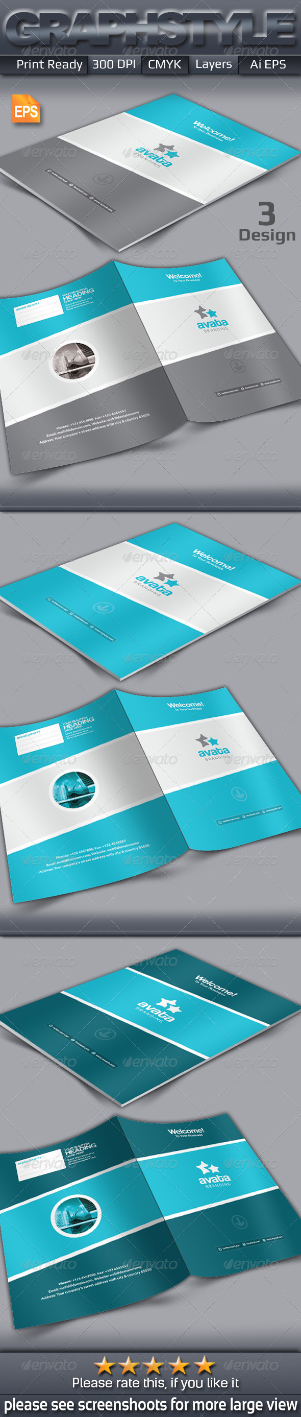 GraphicRiver Avata Presentation Folder 7144840