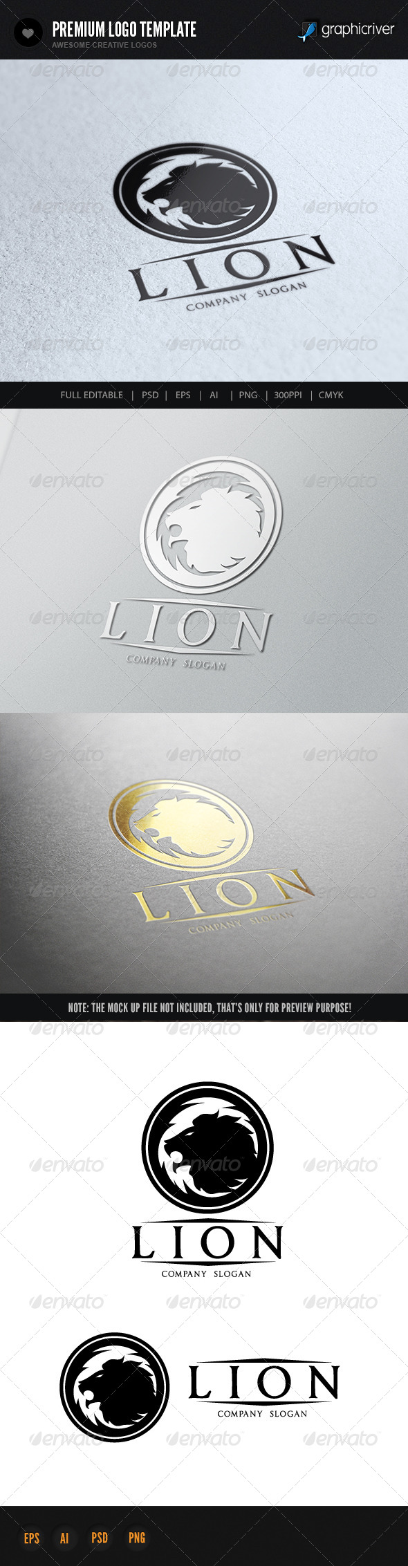 GraphicRiver Lion 7145153