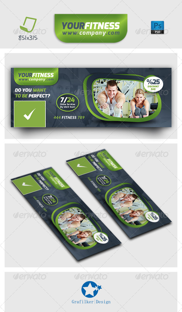 GraphicRiver Fitness Timeline Templates 7145517