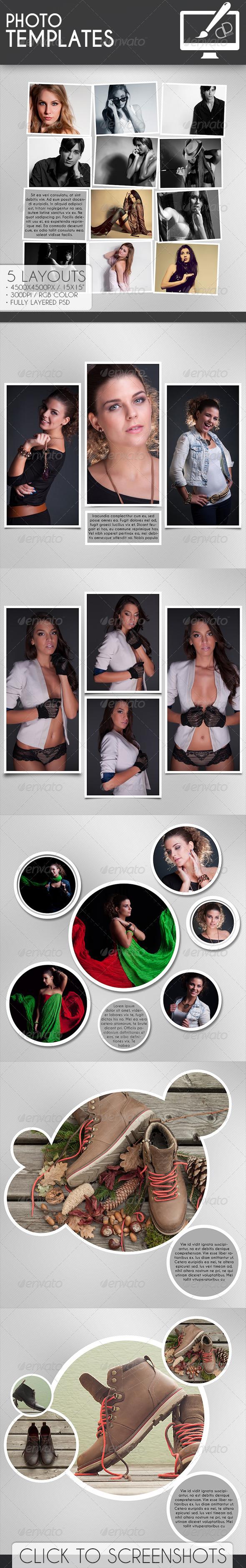 GraphicRiver Photo Templates 7145662