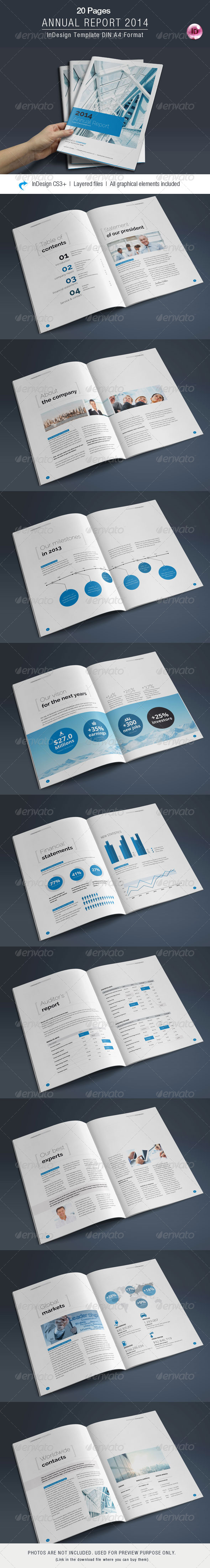 GraphicRiver Annual Report 20 Pages 7145790
