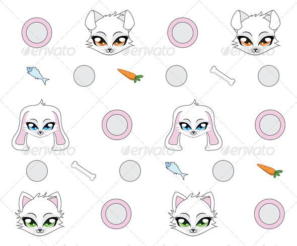 GraphicRiver Toon Animals 7146415