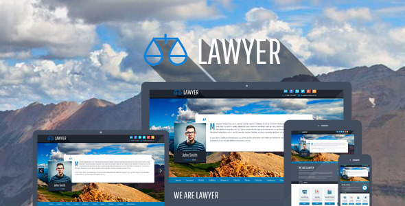 ThemeForest Lawyer Bootstrap Responsive WP Theme 7044637