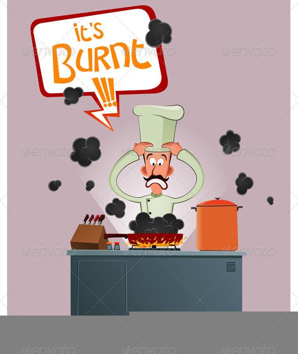 GraphicRiver Stressed Chef 7147027