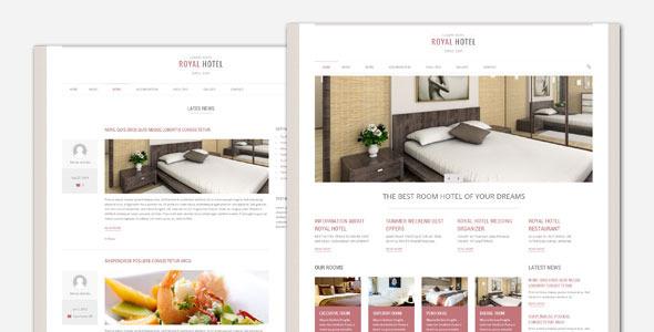 ThemeForest Royal Hotel and Resort WordPress Theme 7147485