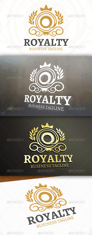 GraphicRiver Queen Crest Logo 7147502