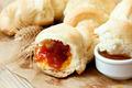 Croissants with Apricot Jam