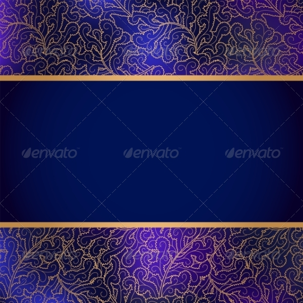 GraphicRiver Elegant Background with Lace Ornament 7147667