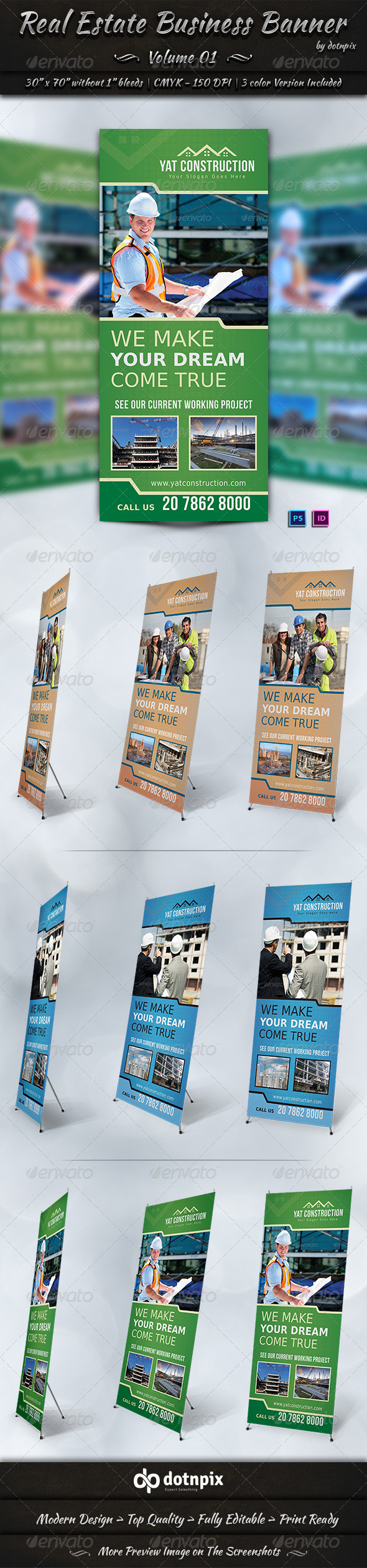 GraphicRiver Real Estate Business Banner Volume 1 7148687