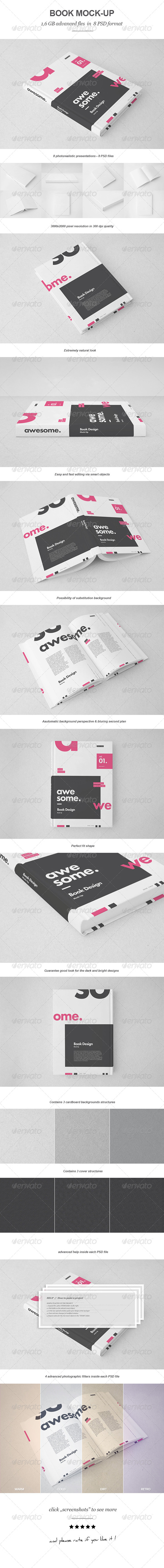 GraphicRiver Book Mock-up 7148762