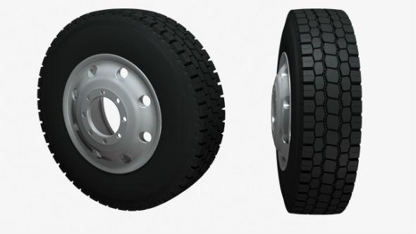 Model of cargo wheel - 3DOcean Item for Sale