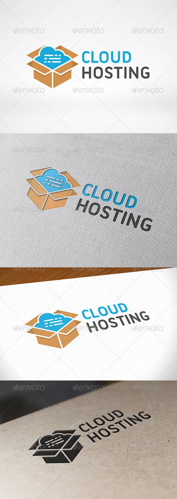 GraphicRiver Cloud Box Logo Template 7149620
